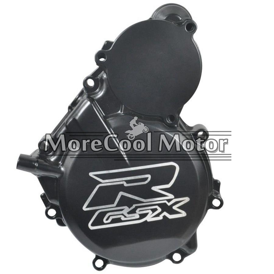ФОТО GSXR Logo Engine Stator Starter Cover For SUZUKI GSXR600 GSXR750 06 07 08 09 10 11 Motorcycle Crankcase