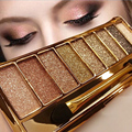 New Brand Makeup Shimmer Eye Shadow Palette Professional Make Up Glitter Pigment Eyeshadow Powder Kits