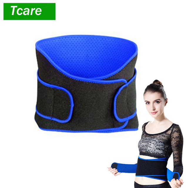 1Pcs Adjustable Waist Trimmer Belt / Weight Loss Ab Wrap / Sweat Workout Enhancer / Back & Lumbar Support / Tummy Belt