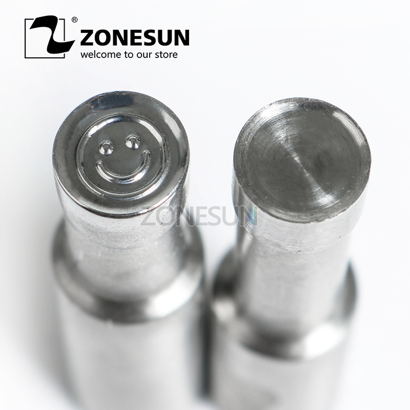 ZONESUN Sugar Tablet Press 3D Mold Candy Milk Punching Die Custom Logo For punch die mould TDP 0 / 1.5 / 3 Machine