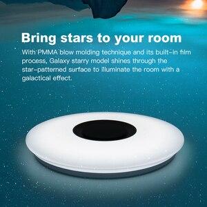 Image 5 - Moderne Led deckenleuchte RGB Dimmbare 25W 36W APP Fernbedienung Bluetooth Musik Licht Foyer Schlafzimmer Smart Decke licht