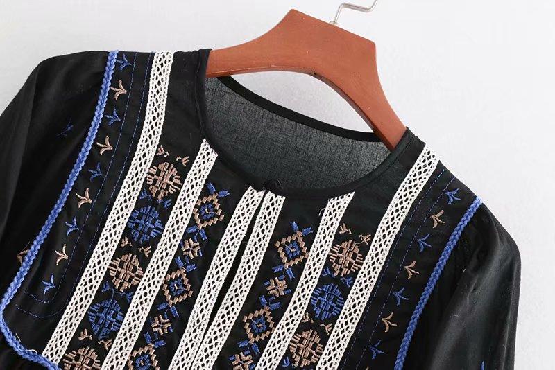 blouse top blusas long 9