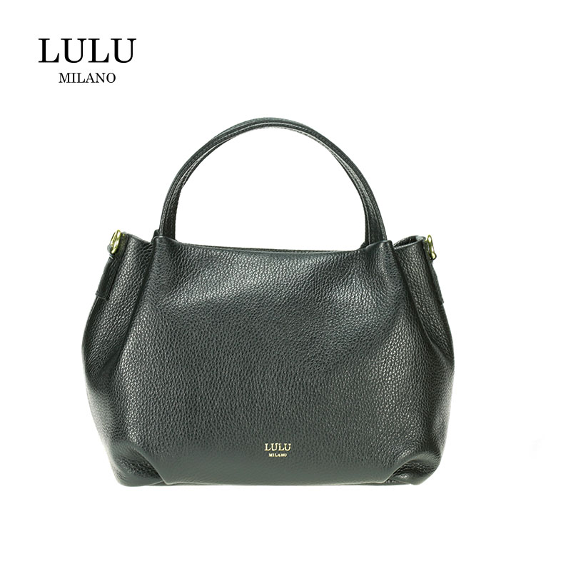lulu milano Genuine leather leather lychee double bag made in Italy  85223-s
