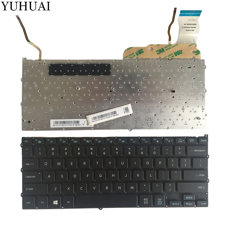 NEW FOR Samsung NP940X3G NP940X3F 940X3G 940X3F US Laptop KEYBOARD backlit new us keyboard for acer aspire vn7 793g vx5 591g vx5 591g 52wn us laptop keyboard with backlit