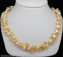 Eternal wedding Women Gift word 925 Sterling silver real natural big 790 Attractive multi-colored baroque pearl