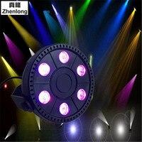 High Quality 6 Led Par Stage Light 18W LED RGBW DMX 512 Mini Par Led Lighting