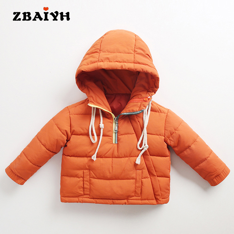 Winter Down Jacket Boys Coat For Baby Girls Clothes Children Warm Outwear Cute Solid Color High Quality Clothing Hooded Snowwear 2016 winter children boys down jacket coat fashion hooded thick solid warm coat boy winter clothing outwear for 4 13t 6 colors