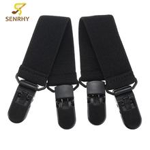 Hot Sale Useful Elastic Motorcycle Bicycle Biker Leg Strap NEW Boot Straps Riding Pant Clips Stirrups Jod Clips(China)