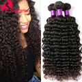 7A Unprocessed Virgin Hair Deep Wave One Bundle Deal Brazilian Virgin Hair Deep Wave Human Hair Extensions Brazilian Curly Hair