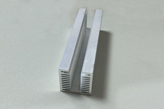 2Pcs/lot 40*40*150MM U-type Radiator Aluminum Heat Sink High Quality Aluminum Tank for Electronic Heat Dissipation