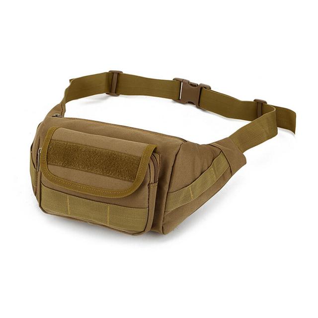 Hombres Cintura Bolsas A Prueba de agua bolsa de Cintura de Nylon Correa Táctica Militar Ocasional Pecho Bolsa de Viaje Hombres Bolsa