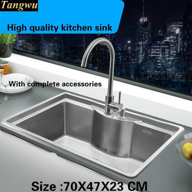 Tangwu High quality food grade smooth surface of 304 stainless ...