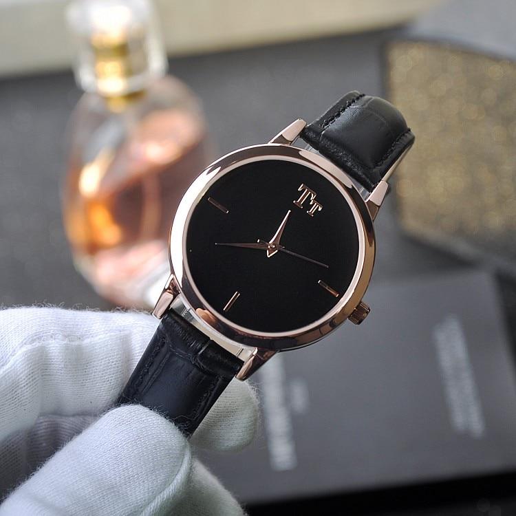 Luxury Brand Fashion Women Girl Quartz Watch Simple Casual Mullti Color Leather Band Female Wristwatch relogio