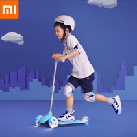 Xiaomi Mitu Scooter Kids 3 Wheels Multiple Double Spring Gravity Steering System For Children Led 3 6 Years Outdoor Fun Sports