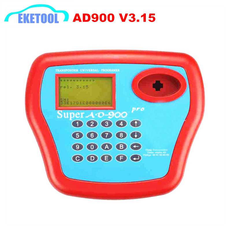 Latest V3 15 Super AD900 Key Programmer With 4D Function Add Copying 4D Chip Recognizing Reading
