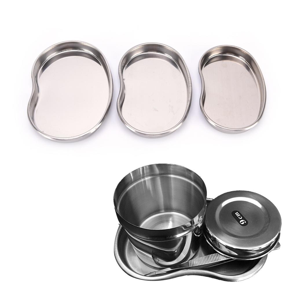 Beauty & Health Stainless Steel Medical Plate Surgical Bending Tray Disinfection Eyebrow Lip Permanent Makeup Body Art Dental Tattoo Accessories Fixing Prices According To Quality Of Products