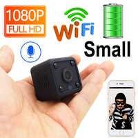 1080P Mini WiFi Camera Battery Ip Camera Battery IpCam Cctv Wireless Security HD HomeSurveillance video Micro Cam Night Vision