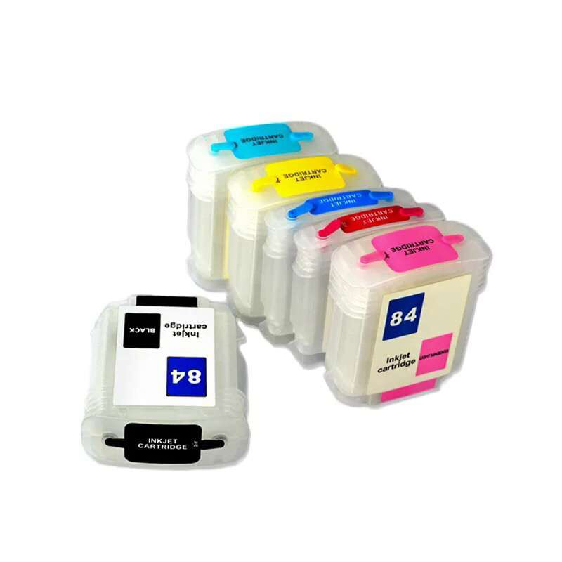 vilaxh for HP 84 85 Refillable ink cartridge replacement for Designjet 130 130gp 130nr 30 30gp 30n 90 90gp 90r printer in Ink Cartridges from Computer Office