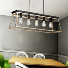 цена Modern Metal Rectangular Chandeliers Hanging Lighting for Living room Dining room Hotel Restaurant Suspension Lustre онлайн в 2017 году