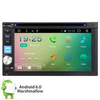 Quad Core Android 6.0 3G WIFI Double 2DIN Car Radio Stereo DVD Player GPS Nav