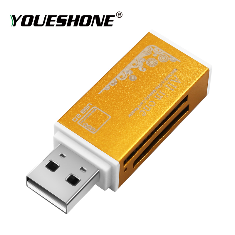 Hot sale 2019 Multi All in 1 Micro USB 2 0 Memory Card Reader Adapter for