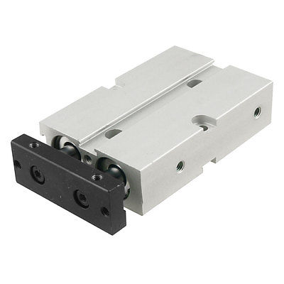Dual Acting 16mm Bore 30mm Stroke Double Rod Pneumatic Air Cylinder high quality double acting pneumatic gripper mhy2 25d smc type 180 degree angular style air cylinder aluminium clamps