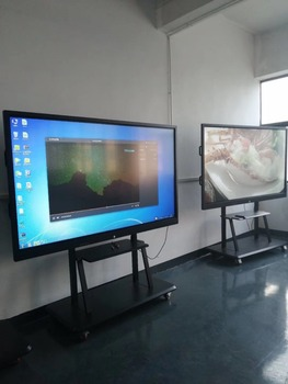 School Teaching New Equipment 65 Inch Interactive Touch Smart White Board With Pc Buit In Television TV