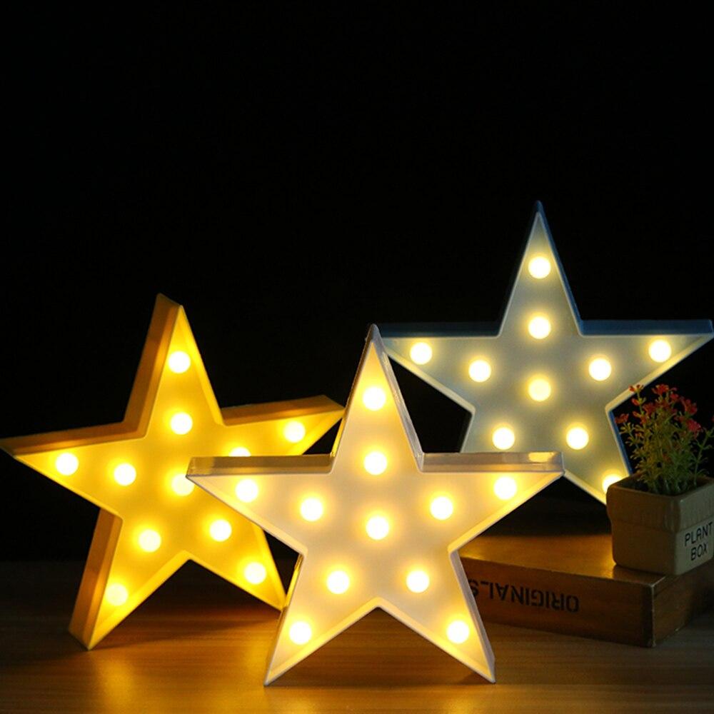 Diy 5 Pvc Led Landscape Lights: Star Crown Butterfly LED Light Ornaments Home Decor