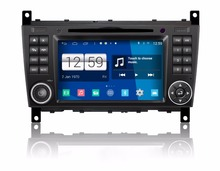 S160 Quad Core Android 4.4.4 car audio FOR BENZ CLC W203(2008-2010) car dvd player head device car multimedia car stereo