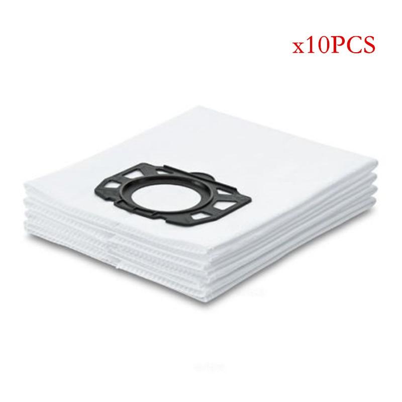 цена на 10pcs filter dust bags for karcher MV4 MV5 MV6 WD4 WD5 WD6 karcher WD4000 to WD5999 part#2.863-006.0 vacuum cleaner dust bags