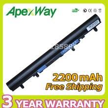 Apexway 4 ячеек батарея для Acer AL12A32 для V5-171 Aspire V5 V5-431 V5-431G V5-471 V5-531 V5-571 V5-571G V5-571P V5-571PG