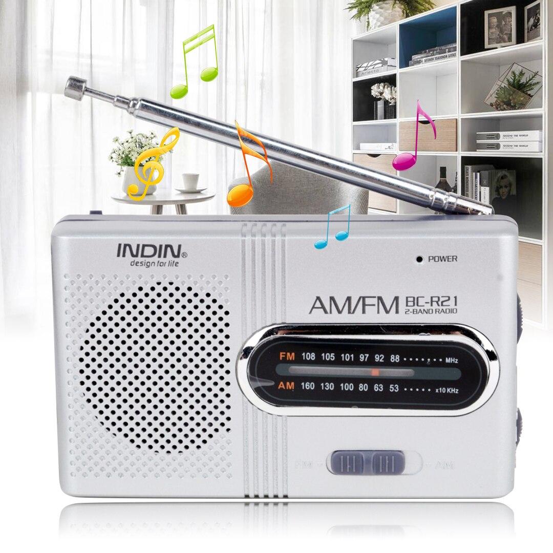 1pc Professional Am Fm Radio Mini Portable Telescopic Antenna Sw Active Mayitr New Bc R21am Pocket World Receiver