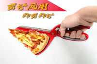 Large Stainless Steel Pizza Scissors Pizza Cutter Pizza Shovel