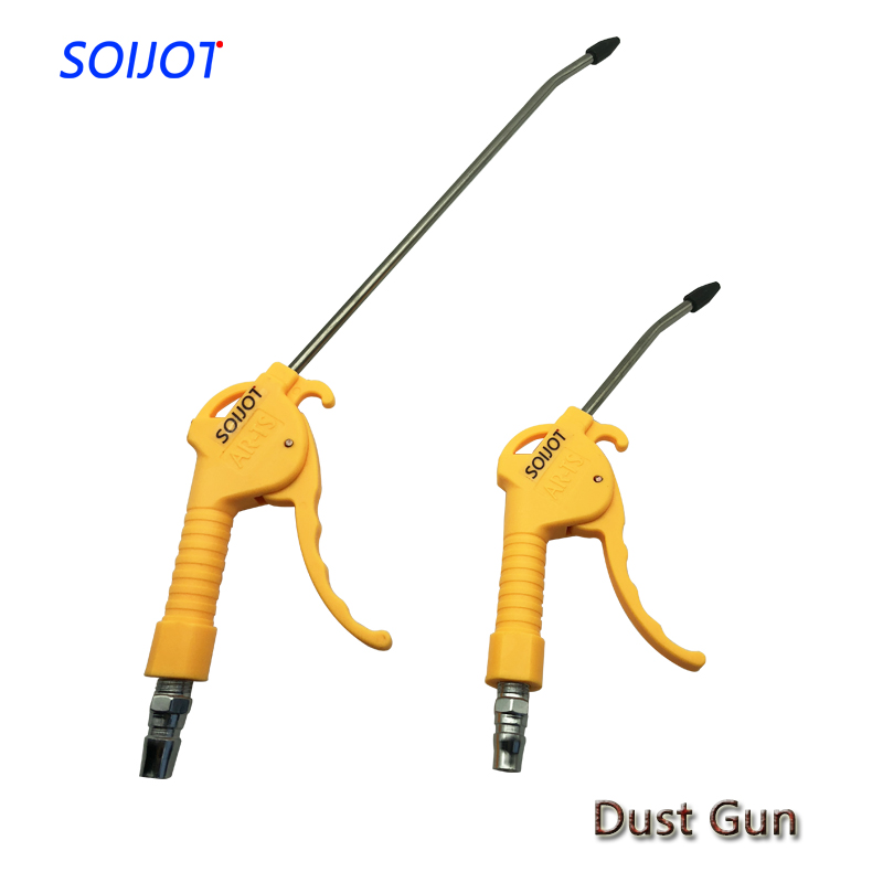 "AR TS/AR TS L  Hand held High pressure Pneumatic Air Blowing dust gun 1/4""PT Female thread port Air Duster clean Tool-in Pneumatic Tools from Tools"