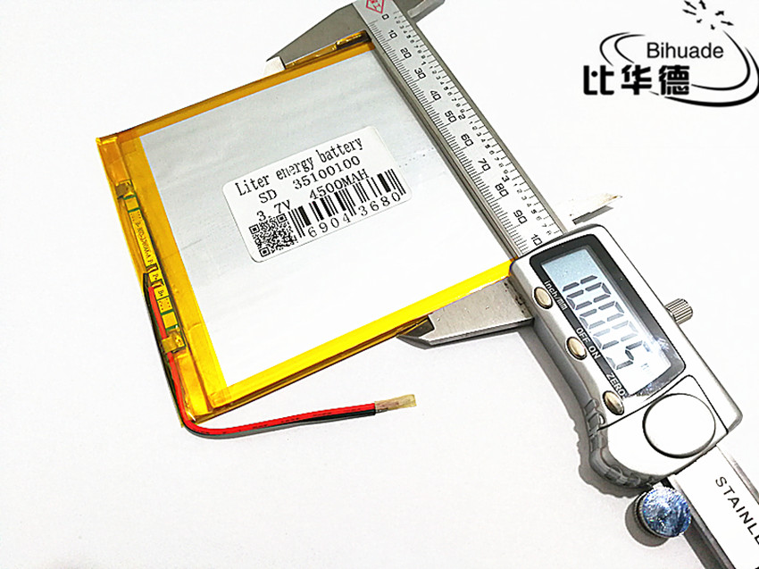 3.7V,4500mAH,35100100 PLIB ( polymer lithium ion battery ) Li-ion battery for tablet pc,GPS,mp3,mp4,cell phone,speake 3 7v 20000mah sd 1465152 polymer lithium ion li ion battery for mobile bank tablet pc cell phone power bank