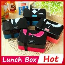 4 Kreative Muster Kawaii Japanische Bento Lunchbox Für Kinder Lunchbox Lebensmittelbehälter Thermos Bento Box Sushi Container Geschirr
