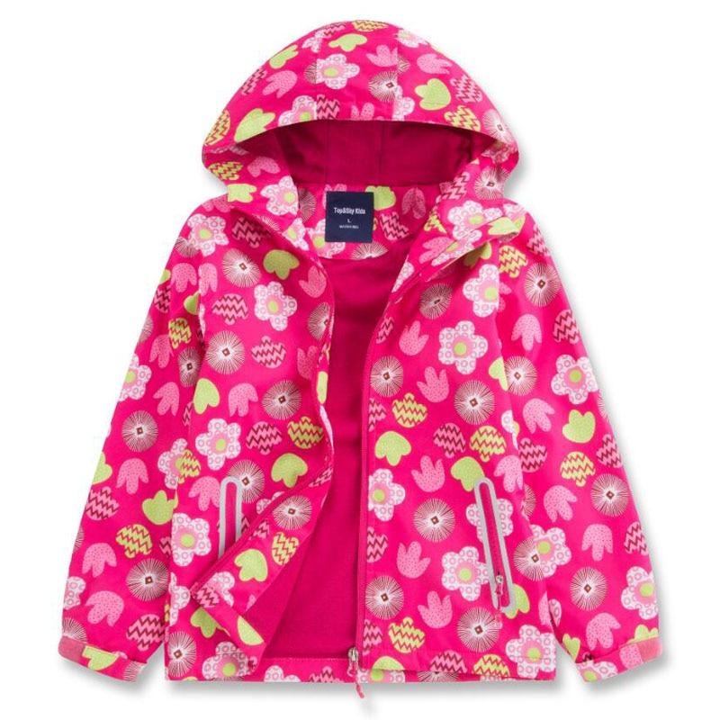 Children Jackets Double-deck Waterproof Polar Fleece 2019 Spring Autumn Winter Kid Girls Coats Sport Casual Girl Jacket
