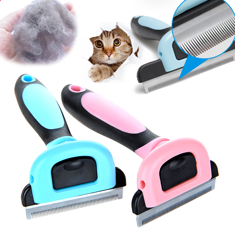 Pet Grooming Comb Removal Hair Comb Brush Deshedding Clipper Stainless Detachable Dog Brush Furmins Hair Cat Comb Pet Supplies