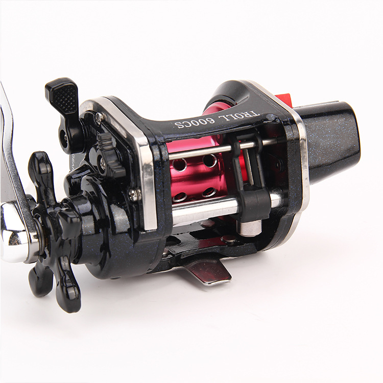 WOEN TROLL 9000CS All metal wire cup Fishing wheel 4BB South Oil Lateral fishing vessel Speed ratio 4.3:1-in Fishing Reels from Sports & Entertainment