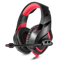 ONIKUMA Gaming Headset With Mic For New Xbox One PS4 Nintendo Switch Noise Isolating Deep Bass