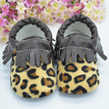 wholesale spring soft sole baby leopard gold Sequin leather Moccasins baby moccasins Toddler Moccs baby kids shoes 20pairs/lot