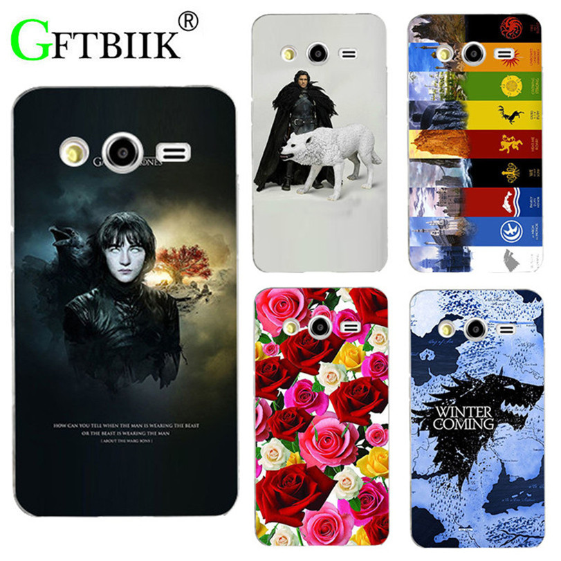 For Game Of Thrones 7 Case For Samsung Galaxy Express 2 Win Pro G3812 G3818 Cover Hard Plastic Printed Back Shell Football Case