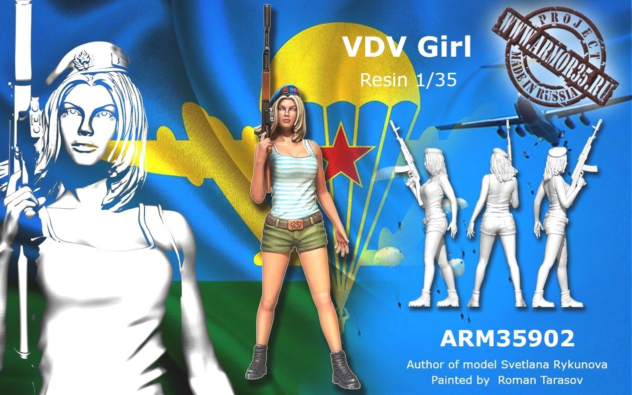 1:35 a modern szovjet nők - Játék figurák