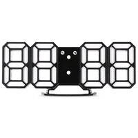 2017 Original 1PCS 3D Modern Wall Clock Digital LED Table Clock Alarm Watch 24 Or 12