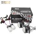 2 pcs 2.5 polegada hid bixenon lente do projetor carro wst com 55 w rápido arranque da lâmpada de xenônio auto lâmpada hid lente do projetor H1 H4 h7