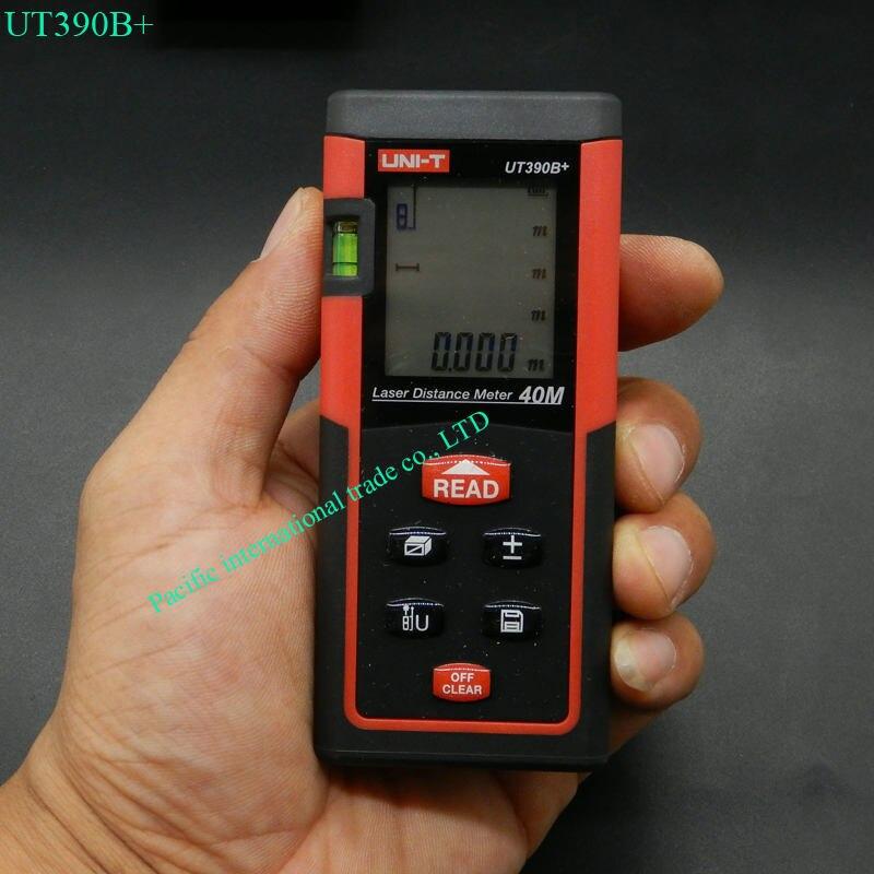 ФОТО UNI-T UT390B+ laser distance meter laser rangefinder accuracy 2mm Maximum measuring distance 40m