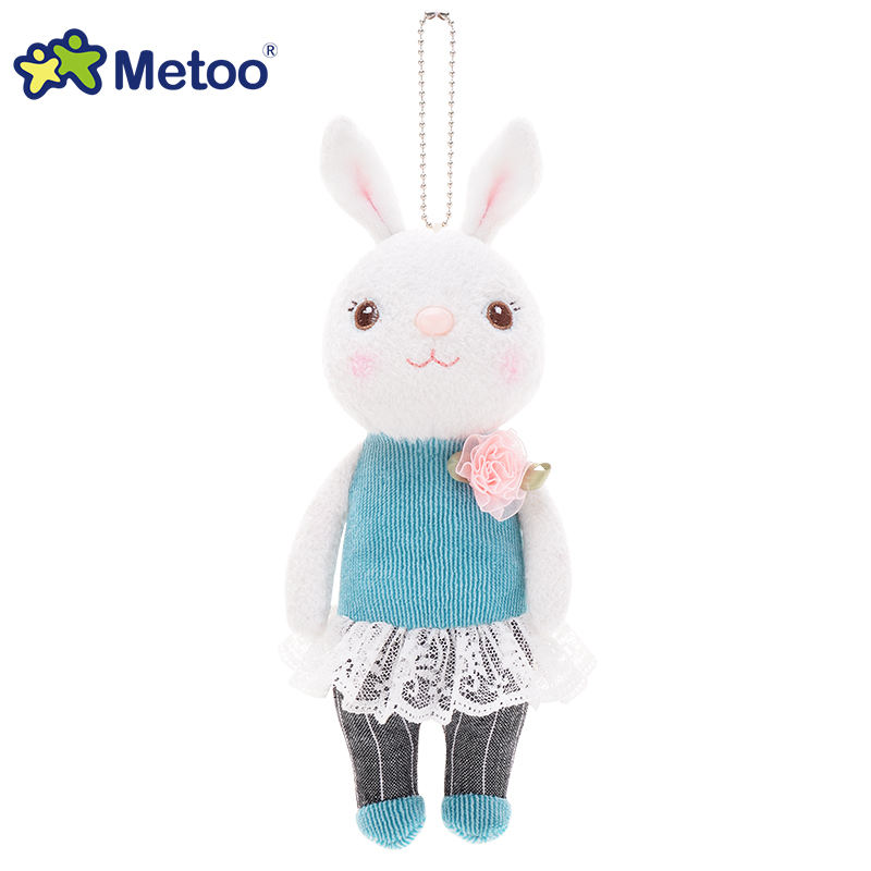 Metoo Dolls Soft Toy 22cm Tiramitu Rabbit Pendant Soft Toys for Girl Cute Rabbit Pusheen Plush Kids Toys for Girl Birthday Gifts hot sale toys 45cm pelucia hello kitty dolls toys for children girl gift baby toys plush classic toys brinquedos valentine gifts