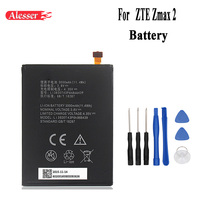 Alesser For ZTE Zmax 2 Li3830T43P6h866439 Battery 3000mAh New Replacement accessory accumulators For ZTE Zmax 2 Phone