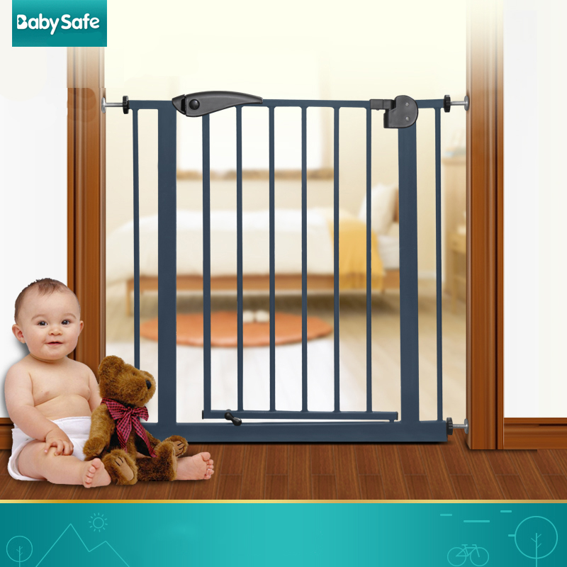 75-84cm babysafe child safety gate baby stair fence door pet isolating valve dog fence платье zerona цвет черный фиолетовый