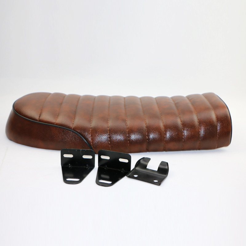 aliexpress : buy cafe racer brat seat caterlillars pleated